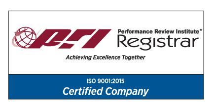 PRI ISO 9001 Cert